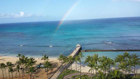 Park Shore Waikiki: View from the balcony, stunning