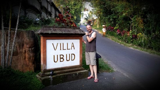 Hotel Villa-Ubud: Entrance