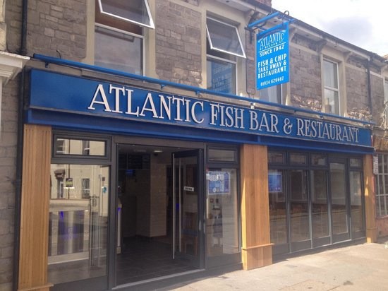Atlantic Fish Bar & Restaurant: New look Atlantic Fish Bar