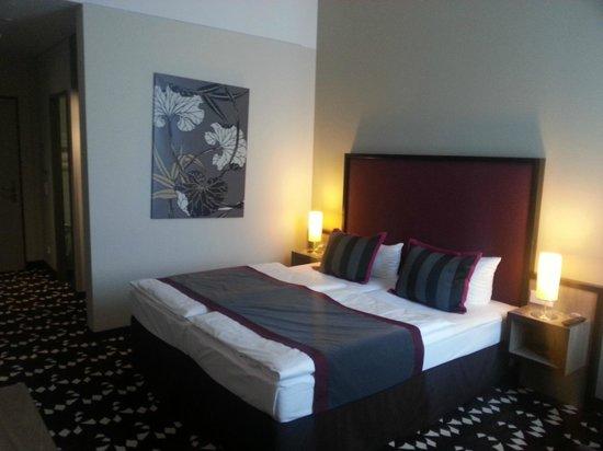 Mercure Hotel MOA Berlin : Mein Zimmer - klasse Schlafkomfort