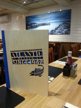 Atlantic Fish Bar & Restaurant: New inside, beautiful looking restaurant and takeaway to match the food!
