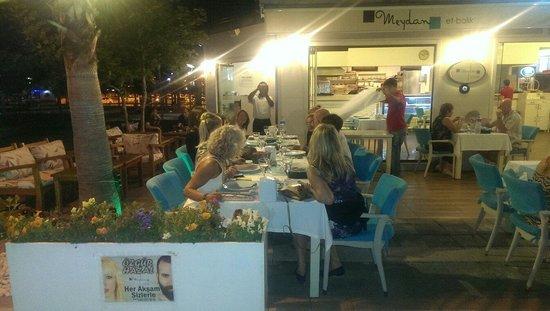 Meydan Meat & Fish Restaurant : Norveç ten Ayşe ablamiz gelmiş