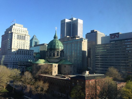 Montreal Marriott Chateau Champlain : Front room view