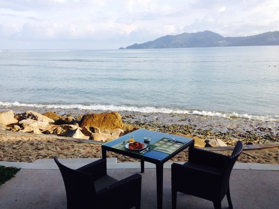 Amari Phuket: Breakfast on the beach the norm at Amari