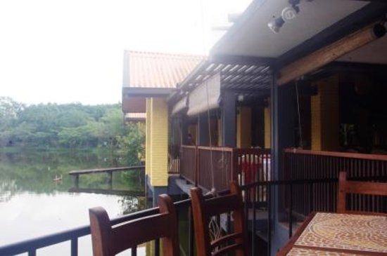 Lake Serenity Boutique Hotel : View from the Restaurant