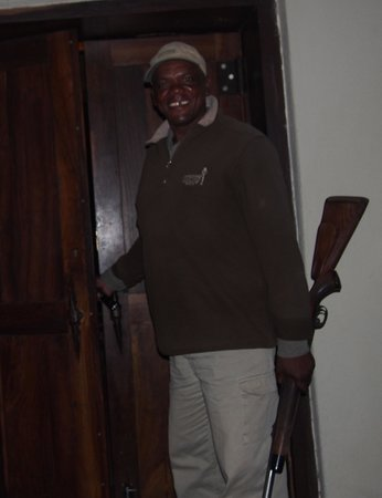 Impodimo Game Lodge : Patrick who was our ranger on our trip