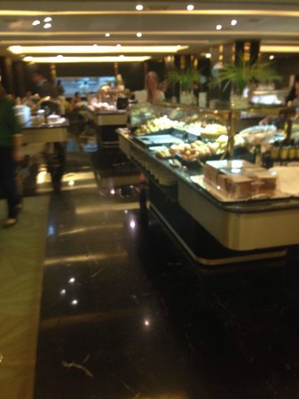 Melia Castilla: Breakfast with many choices