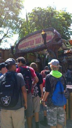 Tiki Juice Bar: Entrance of Enchanted Tiki Room