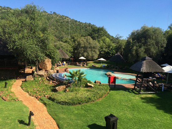 Bakubung Bush Lodge: Pool area
