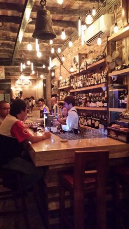 View At The Bar Picture Of Drunk Monkey Old Street Bar Kuching