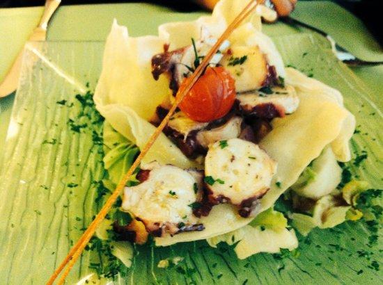 Le Passage: Salade de poulpe