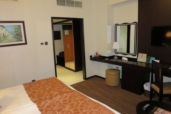 Al Jawhara Gardens Hotel: Standard double room #612