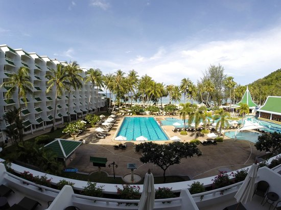 Le Meridien Phuket Beach Resort : View From The Room