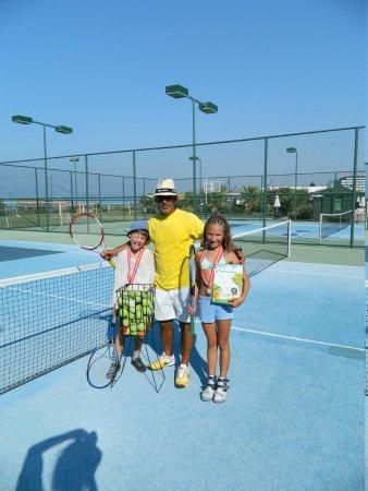 Voyage Belek Golf & Spa : тенис