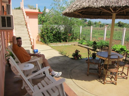Casa Leyani y Osvedy : veranda