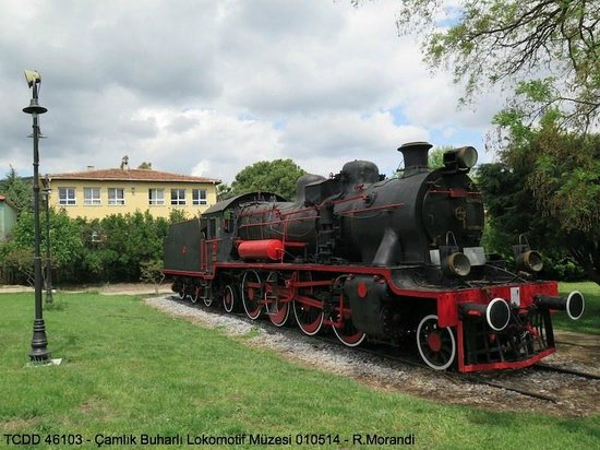 Stephenson locomotive - Picture of Camlik Locomotive ...