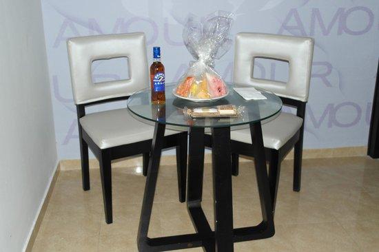 Bavaro Princess All Suites Resort, Spa & Casino: Подарок при заселении