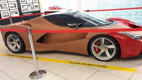 Museo Ferrari: F150 studio