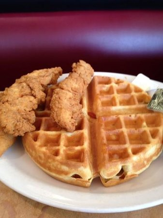 TooJay's: chicken and waffles