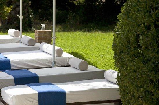 Pelecas Country Club: Sunbeds