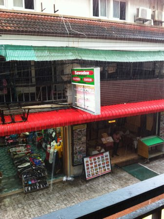 The Bangphu Inn: View from the balcony