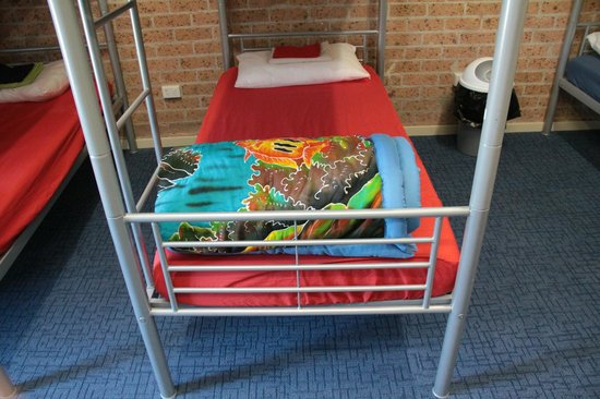 The Entrance Backpackers : Dorm beds