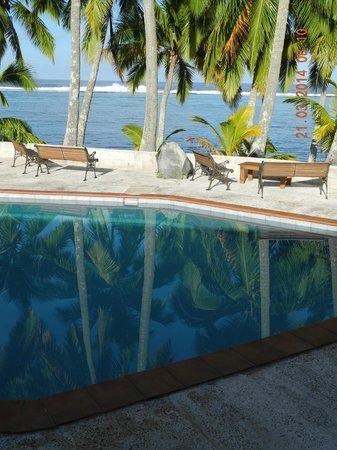Sunhaven Beach Bungalows: Blick vom Zimmer aus