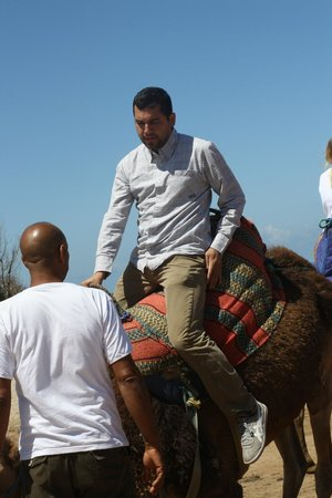 Aziz Saint Laurent Private Tours: Camel ride.