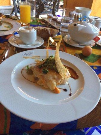 Europe Villa Cortes: Omelette