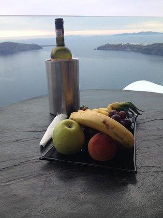 Gold Suites : aperitif offert
