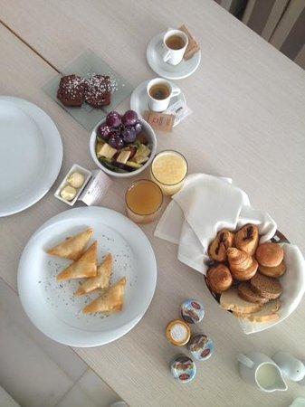 Gold Suites: petit déjeuner