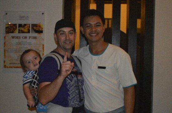 Centara Karon Resort Phuket: Lotus staff member Rolex is such an assett to this resort.