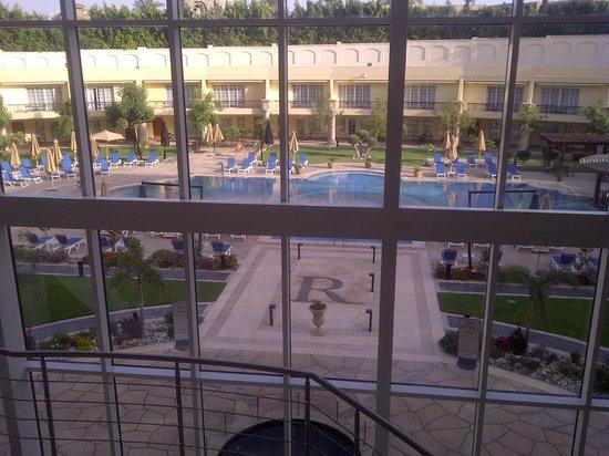 Renaissance Cairo Mirage City Hotel: Depuis le hall (N3)