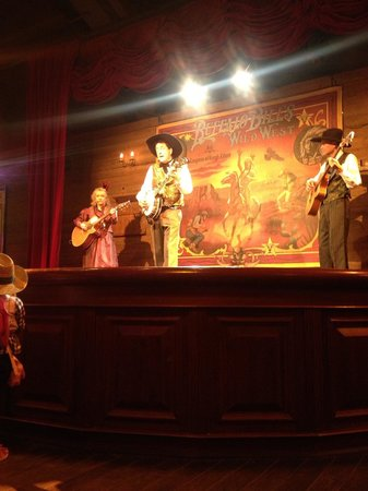 Buffalo Bill's Wild West Show with Mickey & Friends: Pre show entertainment.