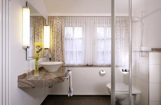 Hotel Noltmann-Peters: Badezimmer