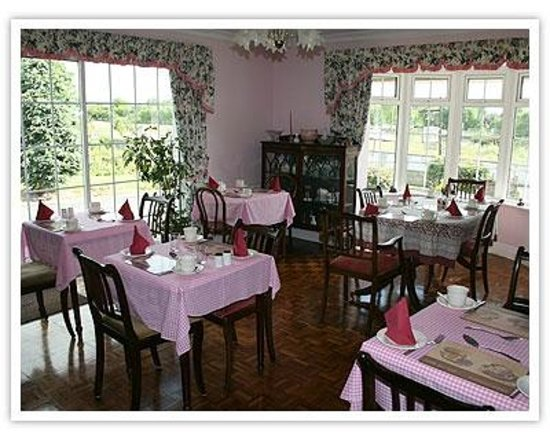 Breagagh View: Dining room (love the pink)