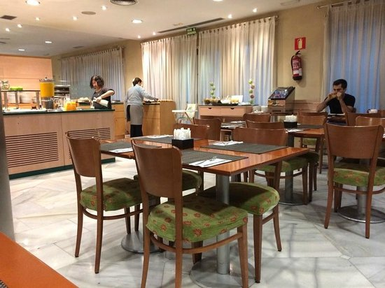 NH Barajas : Ранний выезд, ранний завтрак