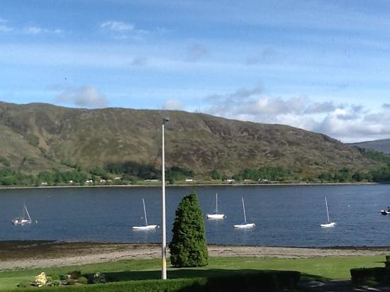 Buccleuch Guest House: view from our window