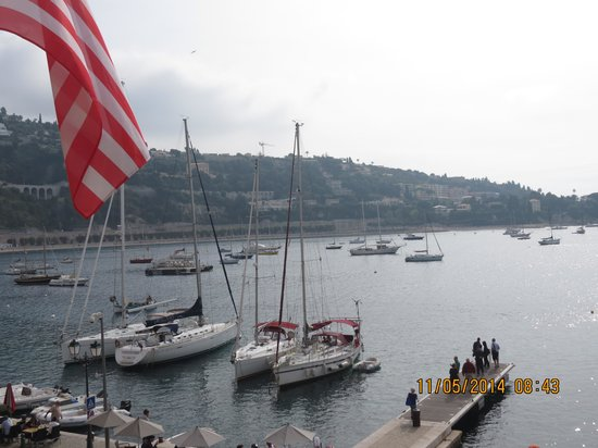 Hotel Welcome : Villefranche from Hotel