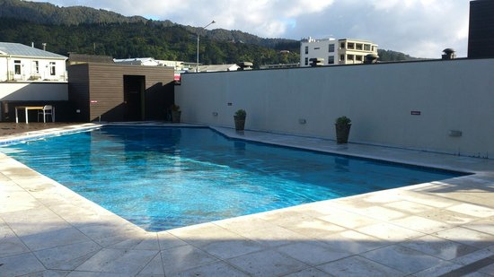 Picton Yacht Club Hotel: PoolArea