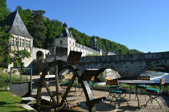 Le Moulin de l'Abbaye : view from the resturant