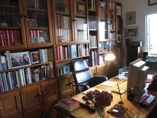 Casa Jose Saramago: the author's office