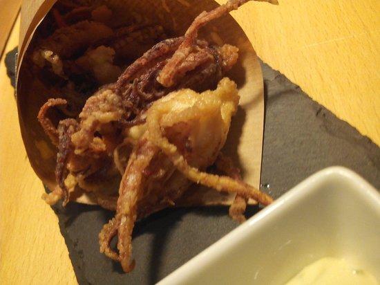 DeÓ: Patitas de chipirones fritas