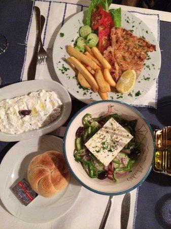 Milos: Zon sfeer en lekker eten