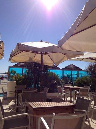 Bellettini Hotel: Spiaggia dell'hotel