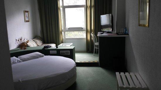 Hotel City House Rias Altas: Dormitorio