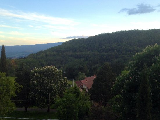 I Tre Baroni: View from the bedroom