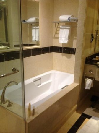 The Palazzo Resort Hotel Casino: nice tub with marble