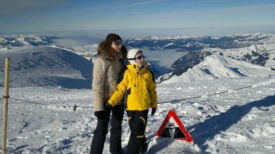 Jungfrau: Осторожно