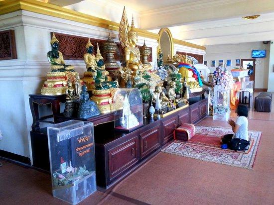 The Golden Mount (Wat Saket): dans le temple